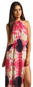 Blue and Pink Maxi Dress by Blu Moon Tiedye Maxi