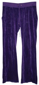 Juicy Couture 2000s Throwback Velour Juicy Tracksuit Athletic Pants Purple