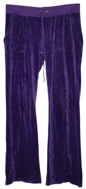 Preload https://img-static.tradesy.com/item/21067259/juicy-couture-purple-velour-tracksuit-pants-size-12-l-32-33-0-1-650-650.jpg