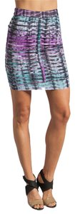 Lovers + Friends Tie Dye Mini Skirt Multicolored
