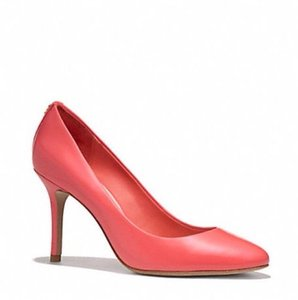 Coach Cerise Orange Pumps