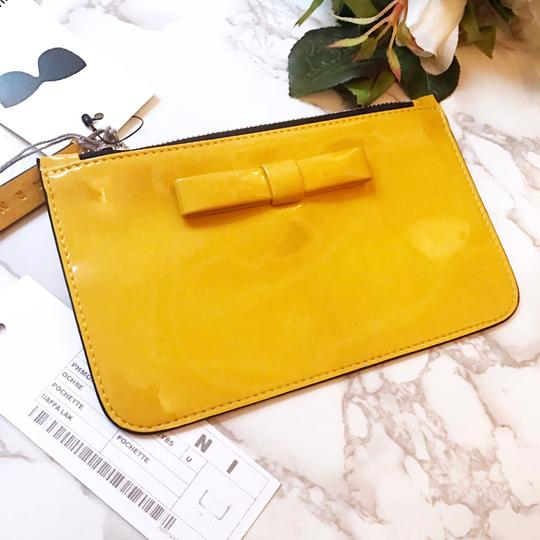 Marni Wristlet in yellow