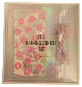 Urban Outfitters donuts iPhone6/6s case and headphone set