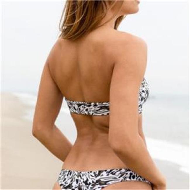MIKOH Bandeau Cupped Top Cheeky Bottoms