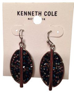 Kenneth Cole KENNETH COLE SILVER TONE EARRINGS $30 NEW