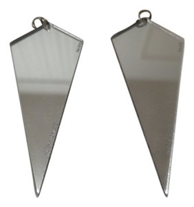 Alex & Chloe Alex & Chloe Geometric Mirrored Earrings