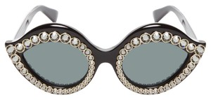 Gucci NEW Gucci Cat Eye Sunglasses with Crystals