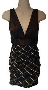 Maria Bianca Nero Ruched Ruching Date Night Formal Dress