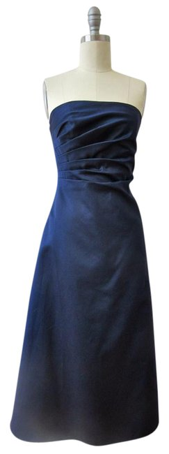 Preload https://img-static.tradesy.com/item/21067939/js-boutique-navy-strapless-satin-mid-length-formal-dress-size-6-s-0-1-650-650.jpg
