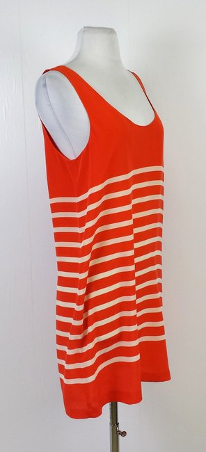 Joie short dress Orange & Beige Striped Tank on Tradesy