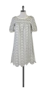 Marc by Marc Jacobs short dress Grey White Patterned on Tradesy