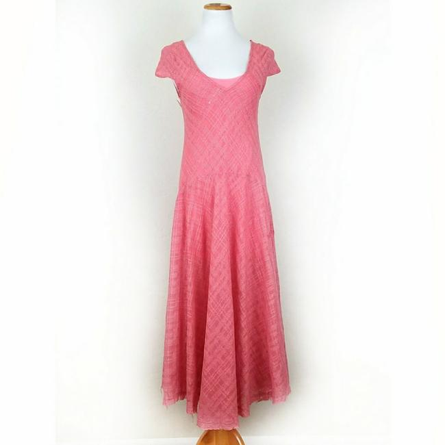 Coral Maxi Dress by Free People Midi Cap Sleeve