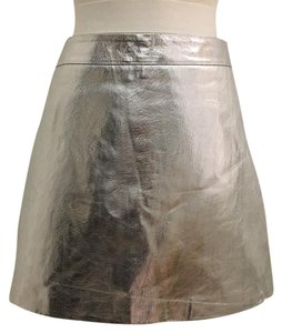 Zara Mini Skirt Silver