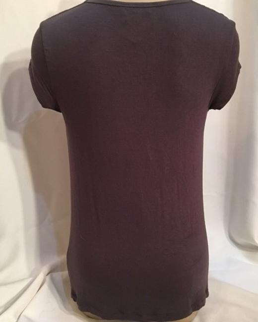 CAbi Top Taupe/Brown