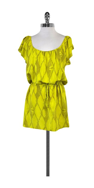 Preload https://img-static.tradesy.com/item/21068252/twelfth-st-by-cynthia-vincent-yellow-and-grey-silk-short-casual-dress-size-8-m-0-0-650-650.jpg