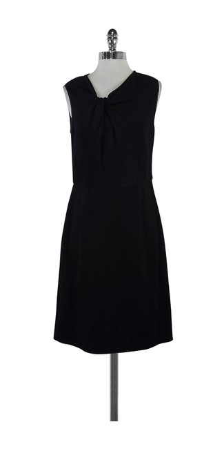 Preload https://item1.tradesy.com/images/jason-wu-black-leather-trimmed-sleeveless-mid-length-short-casual-dress-size-12-l-21068260-0-0.jpg?width=400&height=650