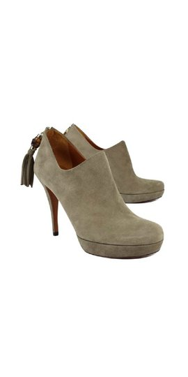 Gucci Suede Taupe Boots