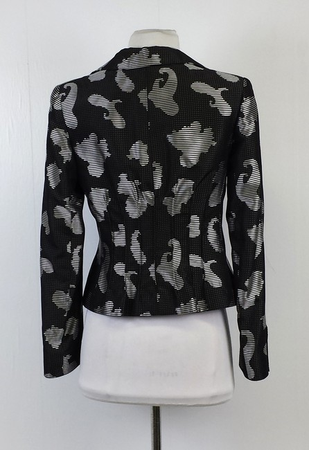 Armani Collezioni Brocade Black & Grey Jacket