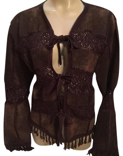 Preload https://img-static.tradesy.com/item/21068352/brown-suede-and-crochet-leather-jacket-size-6-s-0-1-650-650.jpg
