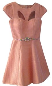 Mac Duggal Couture short dress Coral on Tradesy