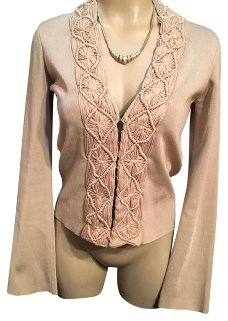 Preload https://item1.tradesy.com/images/lafayette-148-new-york-tan-braided-accent-cardigan-size-0-xs-21068460-0-1.jpg?width=400&height=650
