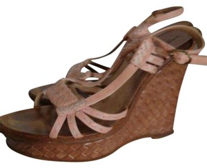 Bottega Veneta PINKY PEACH Wedges