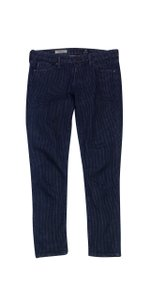 AG Adriano Goldschmied Square Print Straight Leg Jeans