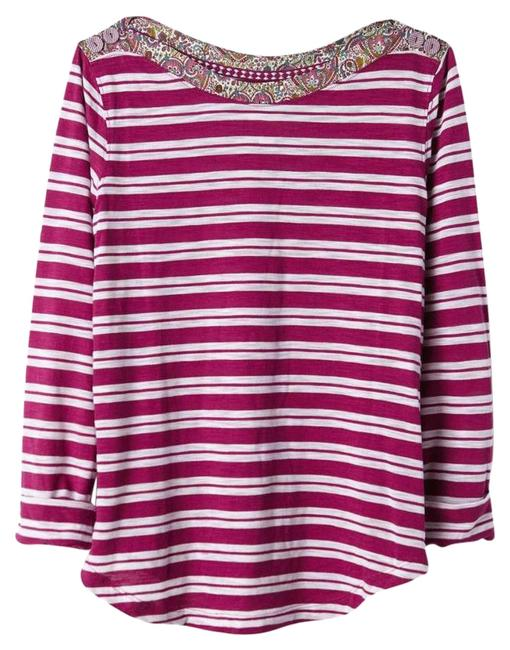 Preload https://img-static.tradesy.com/item/21068522/anthropologie-striped-sail-away-boatneck-tee-shirt-size-4-s-0-11-650-650.jpg