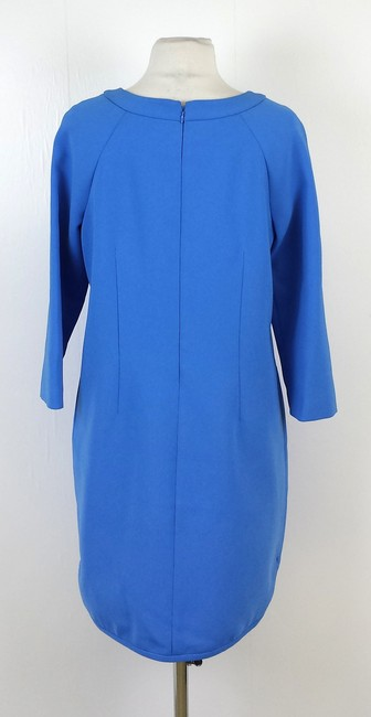 J.Crew short dress Turquoise Silk Shift on Tradesy