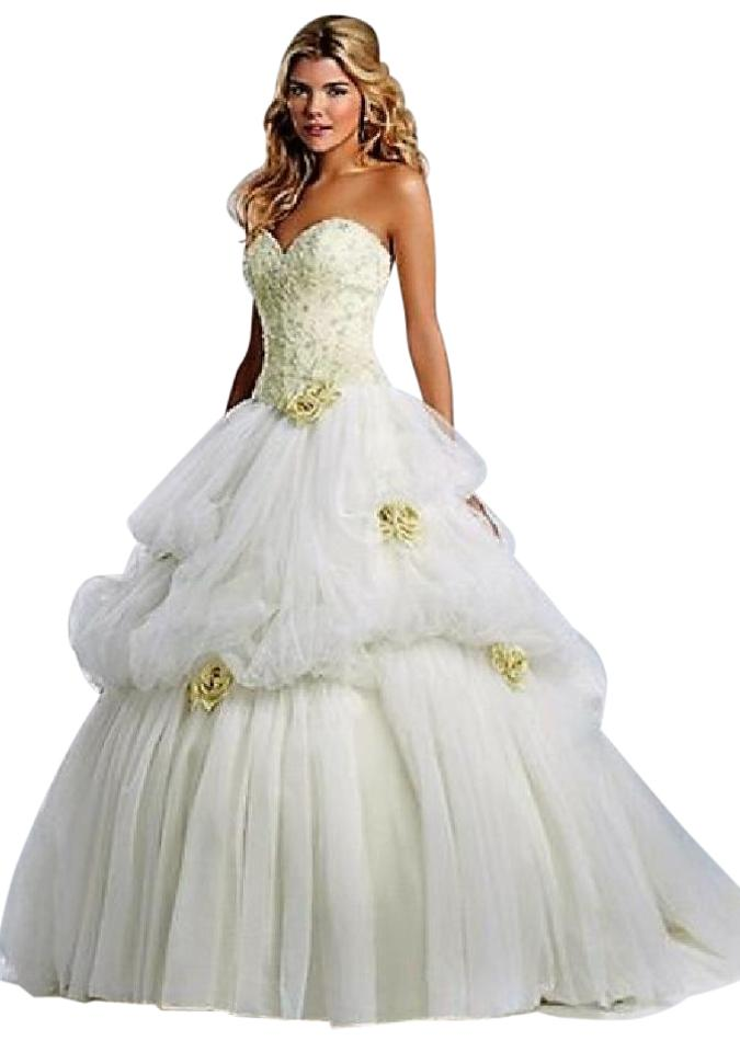 Alfred Angelo Soft Tulle Disney Fairy Tale Princess Belle Formal ...