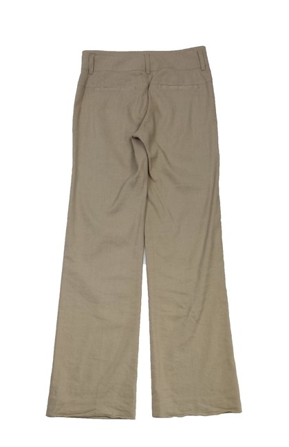 Vince Linen Trouser Pants Tan