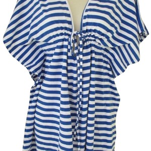 Old Navy nautical striped beach coverup