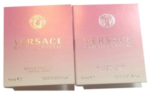 Versace 2 X Versace Bright Crystal Edt 1ml
