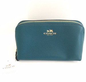 Coach New Coach Leather Cosmetic Bag