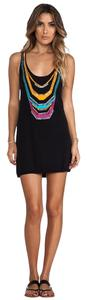 Nanette Lepore NEW WITH TAGS Spice Market Intarsia Beaded Tank Cover Up Dress