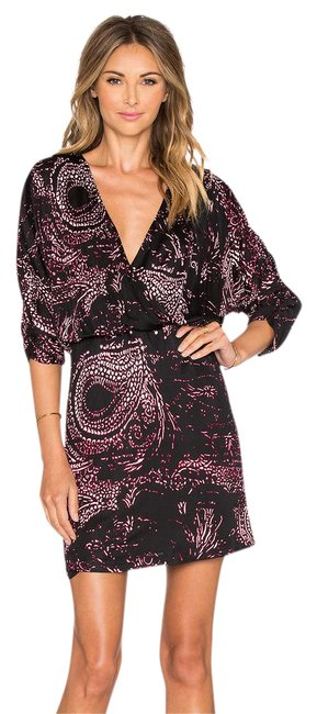 Preload https://item3.tradesy.com/images/parker-multi-black-white-red-catalina-in-foxy-glasglow-print-short-cocktail-dress-size-6-s-21068852-0-2.jpg?width=400&height=650