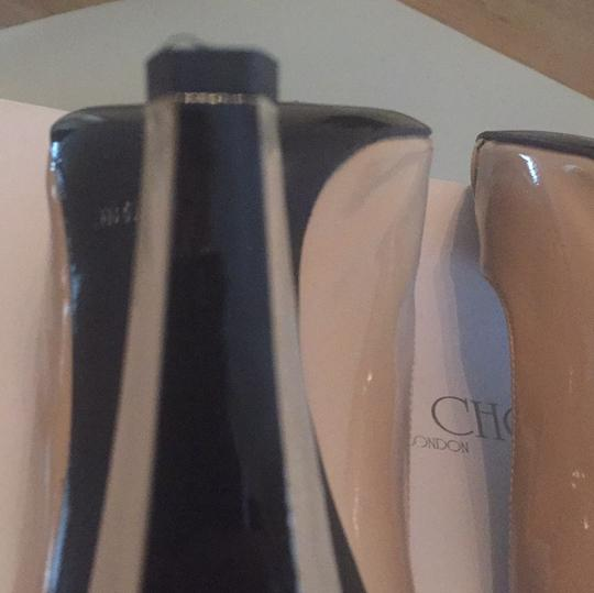 Jimmy Choo foundation glossy Pumps