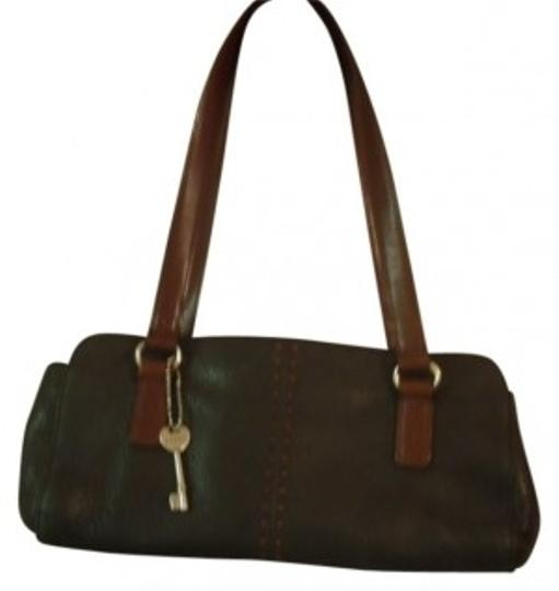 Preload https://item5.tradesy.com/images/fossil-black-with-brown-straps-and-stitching-leather-shoulder-bag-21069-0-0.jpg?width=440&height=440