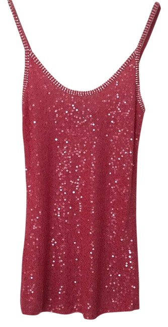 Preload https://img-static.tradesy.com/item/21069088/donna-karan-pink-collection-sequin-tank-topcami-size-8-m-0-4-650-650.jpg