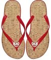 Michael Kors Studs Mk Red and gold Sandals Image 0