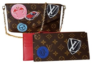 Louis Vuitton World Tour Felicie Limited Edition Cross Body Bag