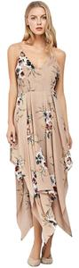 Apricot Maxi Dress by Fashion Culture
