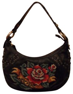 Isabella Fiore Love Leather Hobo Bag