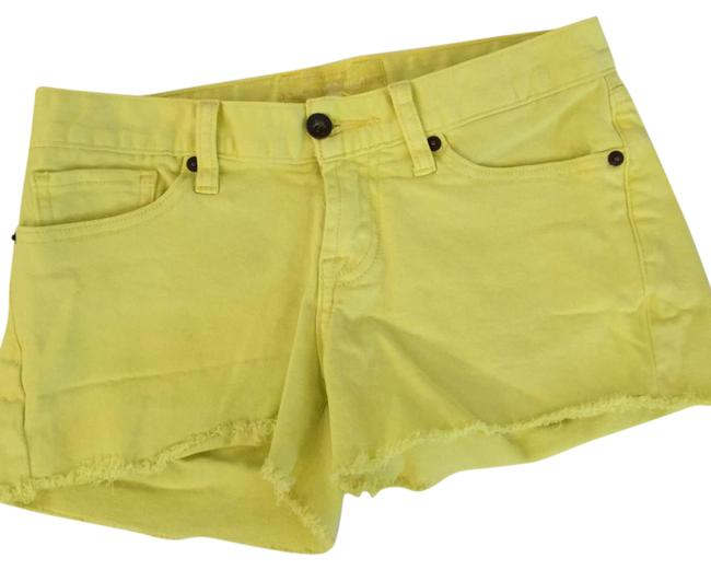 Preload https://img-static.tradesy.com/item/21069256/lucky-brand-yellow-cut-off-denim-shorts-size-29-6-m-0-1-650-650.jpg