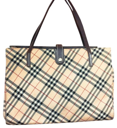 Burberry Blue Label Satchel in cream