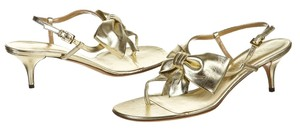 Louis Vuitton Gold Sandals