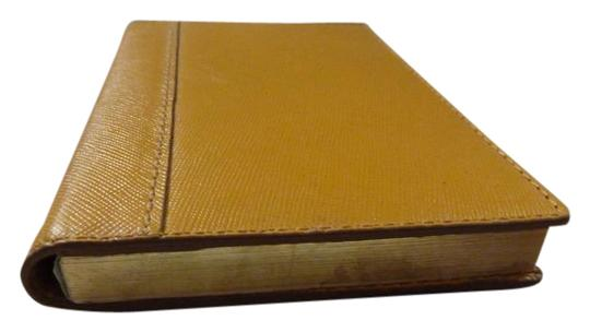 Preload https://item4.tradesy.com/images/banana-republic-yellow-leather-cover-diarynote-book-new-wallet-21069323-0-1.jpg?width=440&height=440