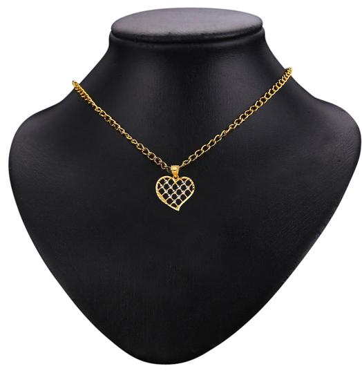 Preload https://img-static.tradesy.com/item/21069369/two-tone-14k-heart-pendant-charm-0-1-540-540.jpg