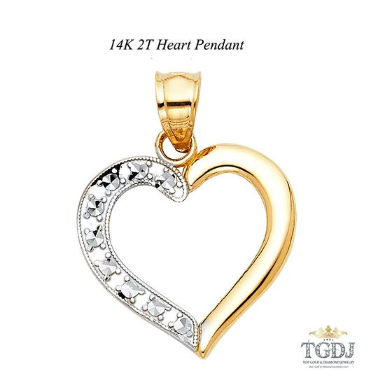 Preload https://item5.tradesy.com/images/yellow-gold-14k-two-tone-heart-pendant-charm-21069434-0-0.jpg?width=440&height=440