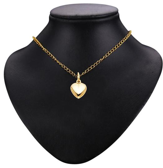 Top Gold & Diamond Jewelry 14K Yellow Gold Heart Pendant